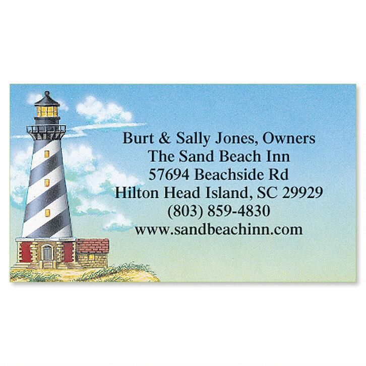 Lighthouse Calling Card