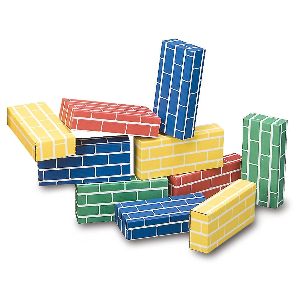 Primary Building Bricks - Set of 24