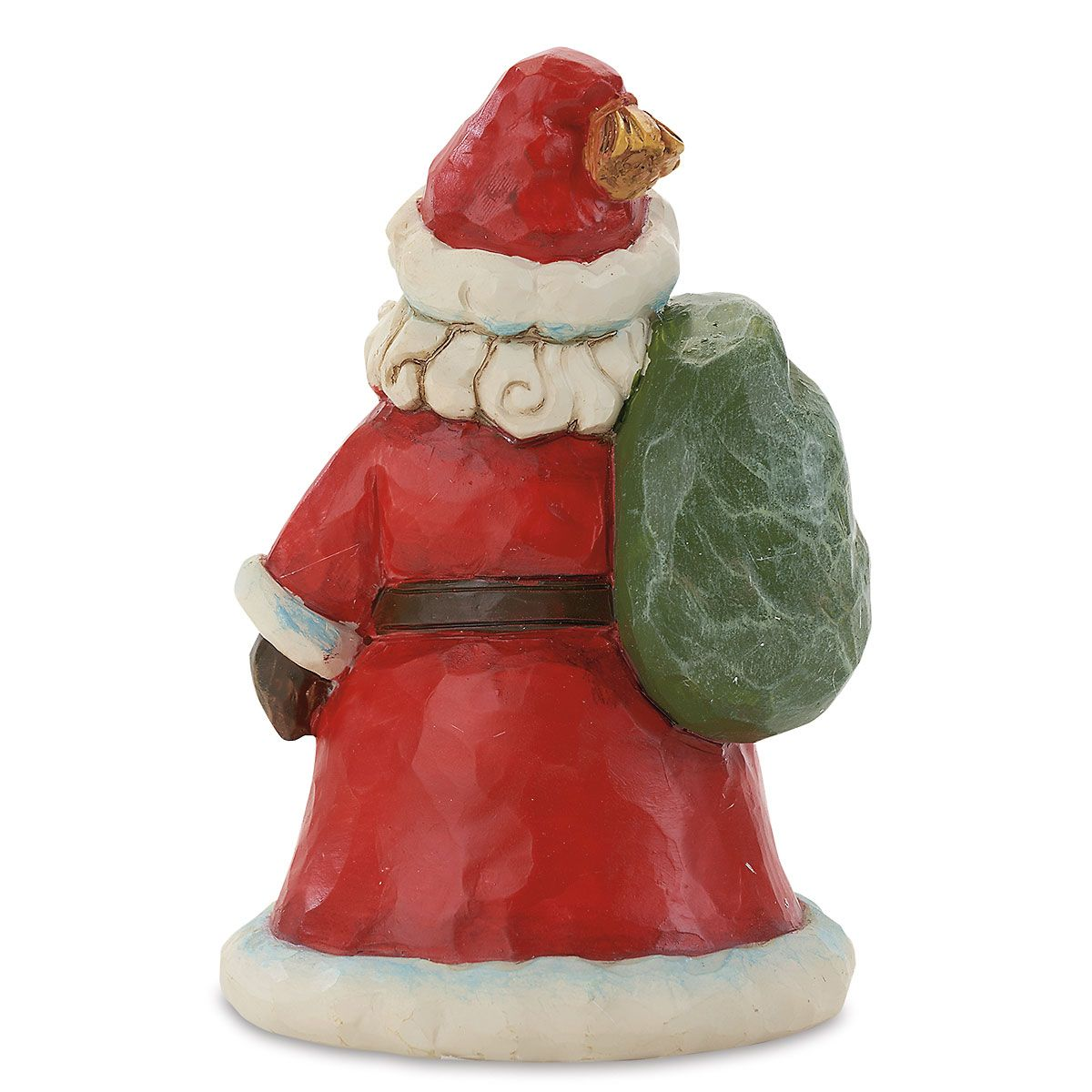 Santa with Bag Figurine by Jim Shore
