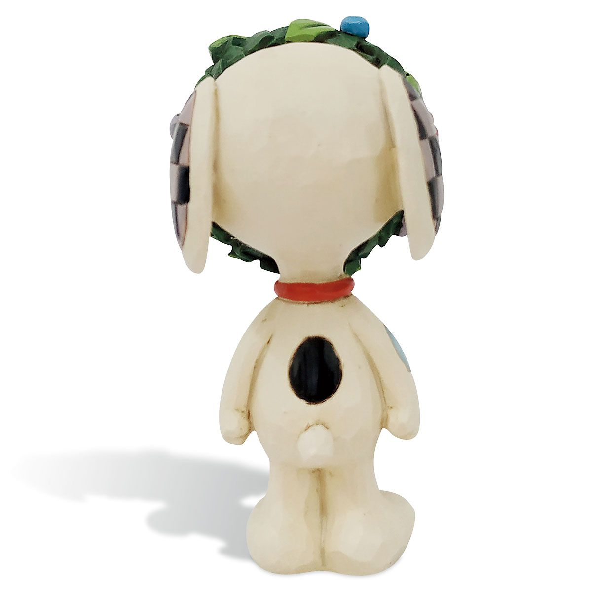 Mini Snoopy with Wreath by Jim Shore