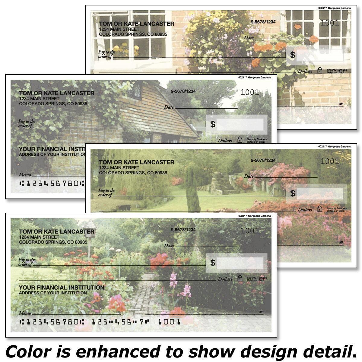 Gorgeous Gardens Checks