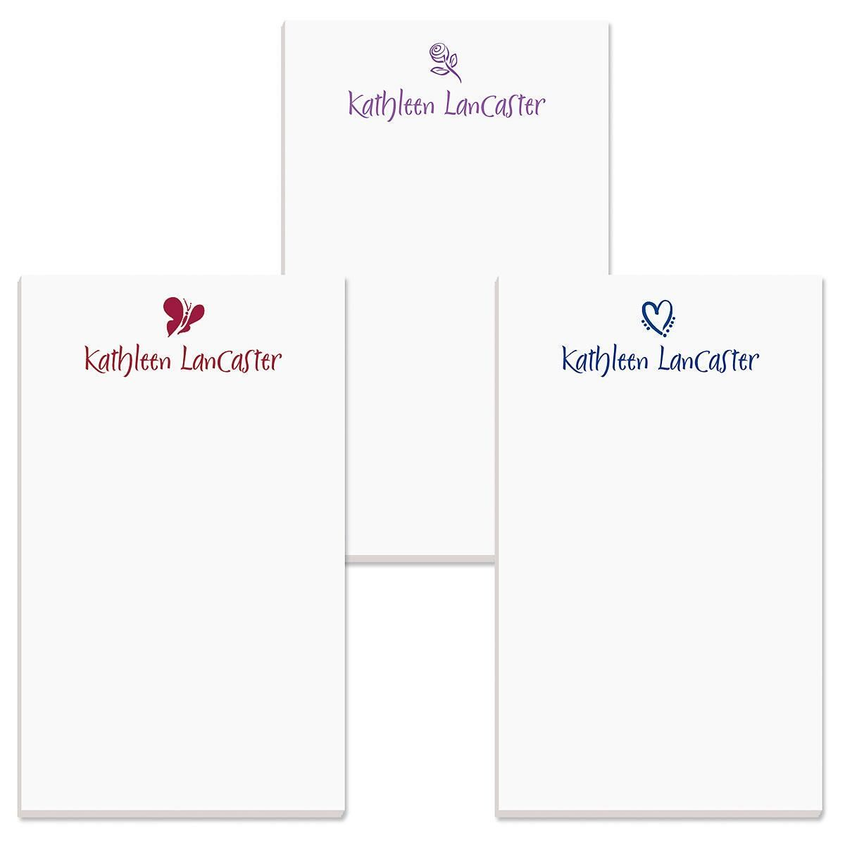 Symbol Personalized Notepads