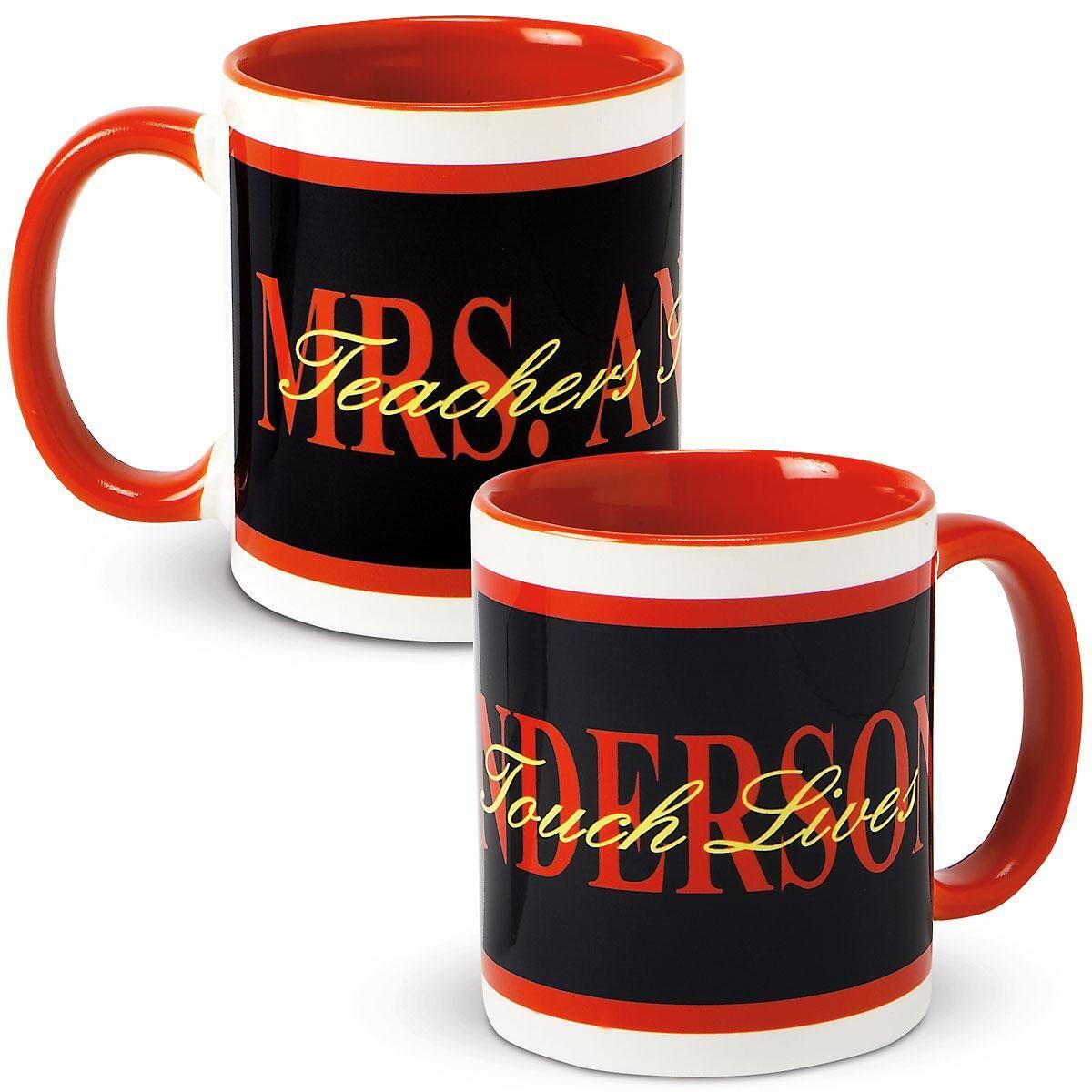 Teacher's Personalized Mug