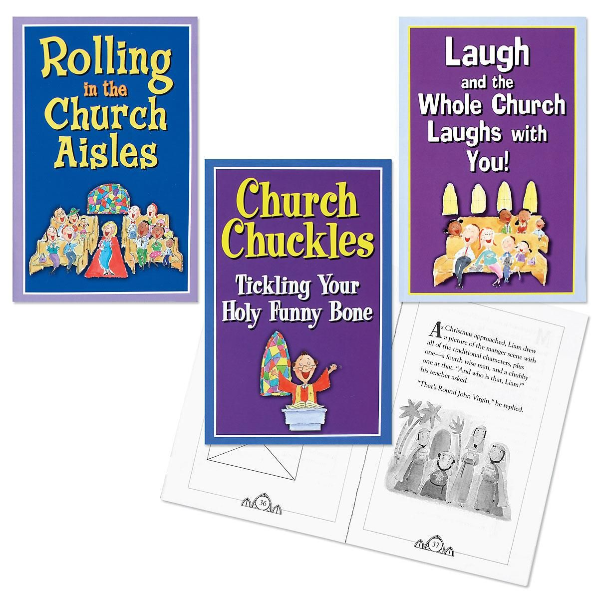 Church Humor Books