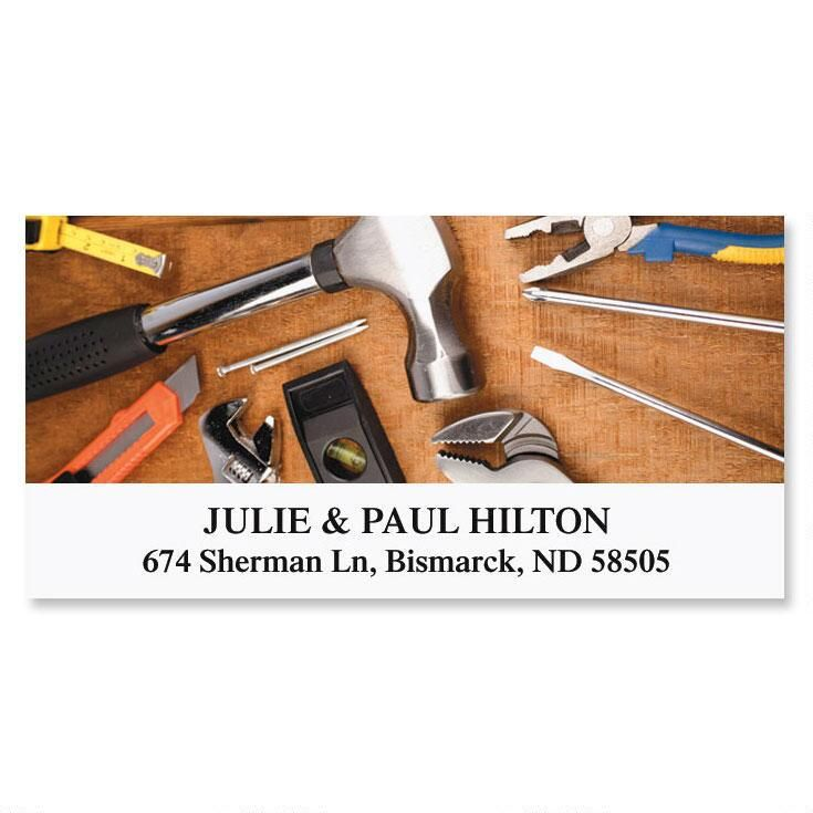 Handyman Deluxe Address Labels