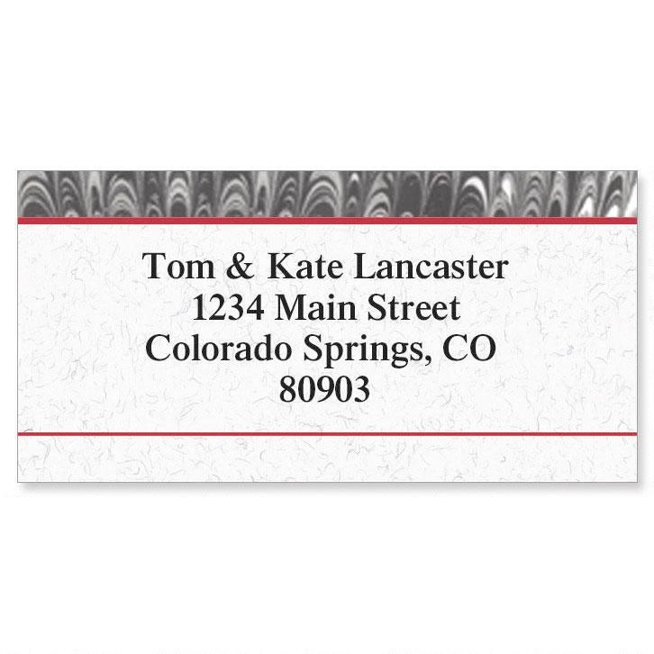 Executive  Border Address Labels