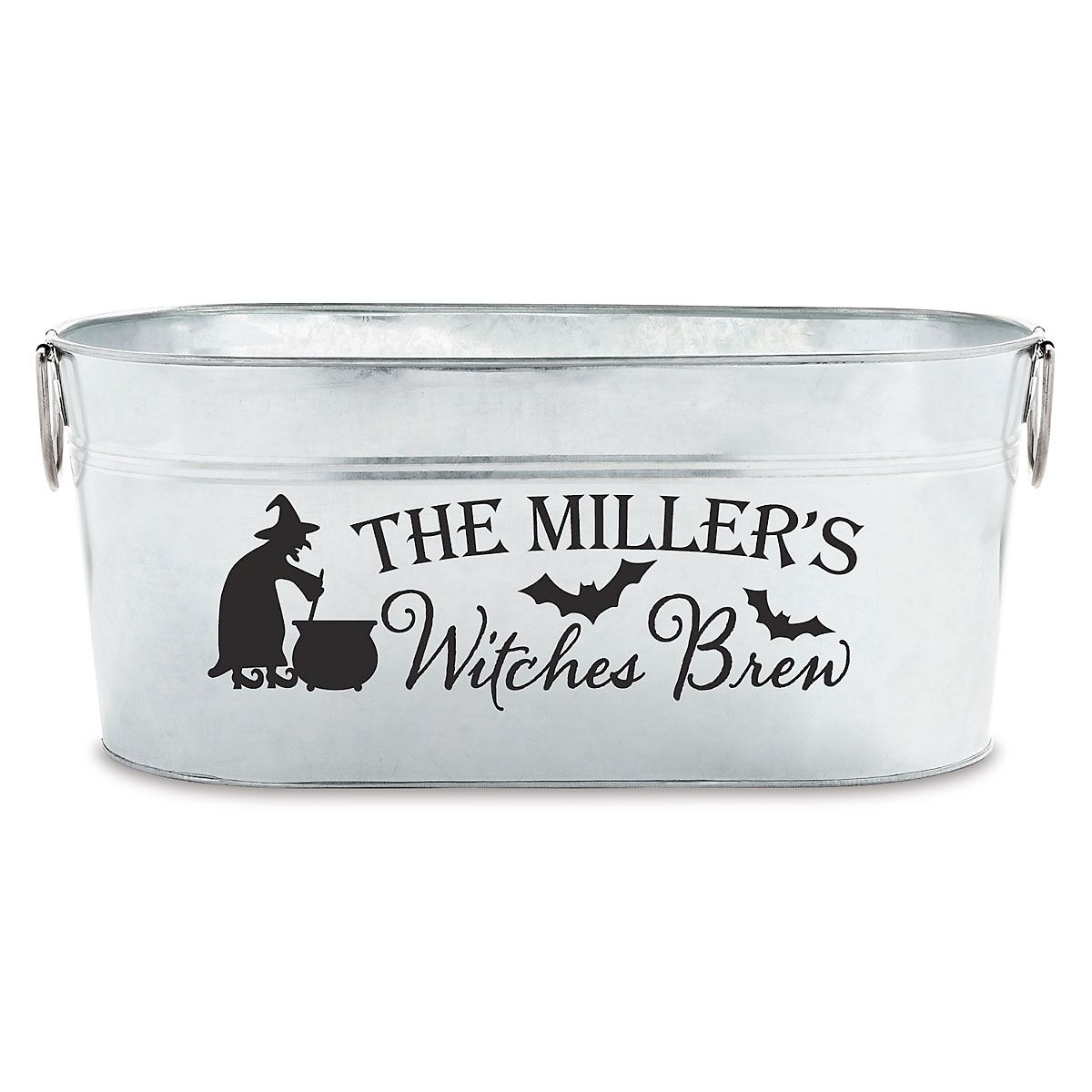 "Personalized ""Witches Brew"" Tub"