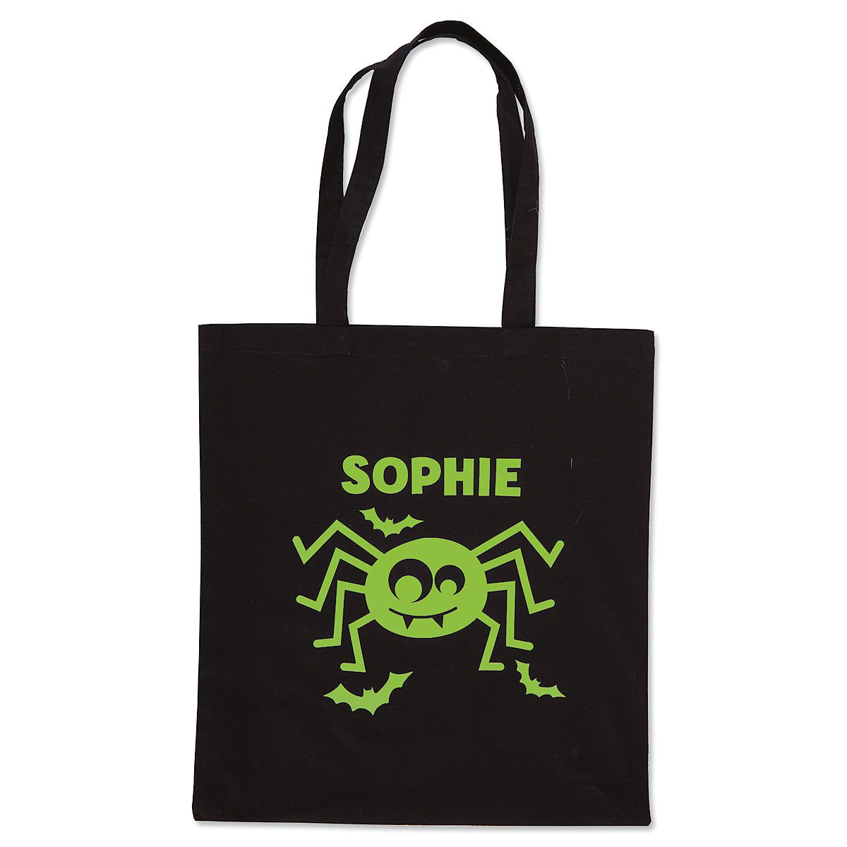 Personalized Glow-in-the-Dark Halloween Treat Bags