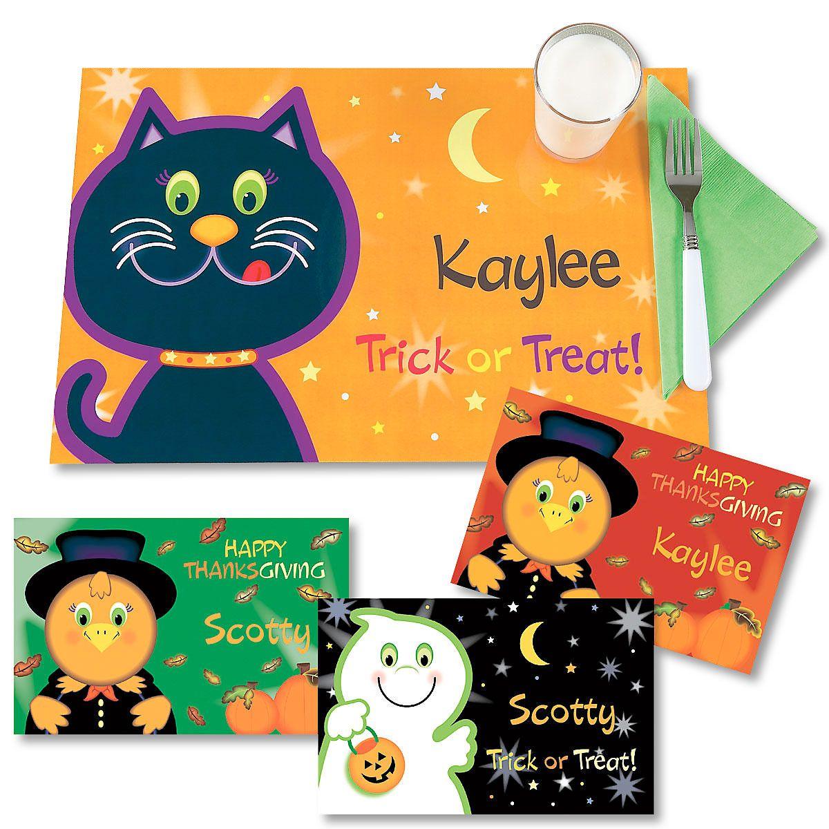 Halloween Kids' Placemats