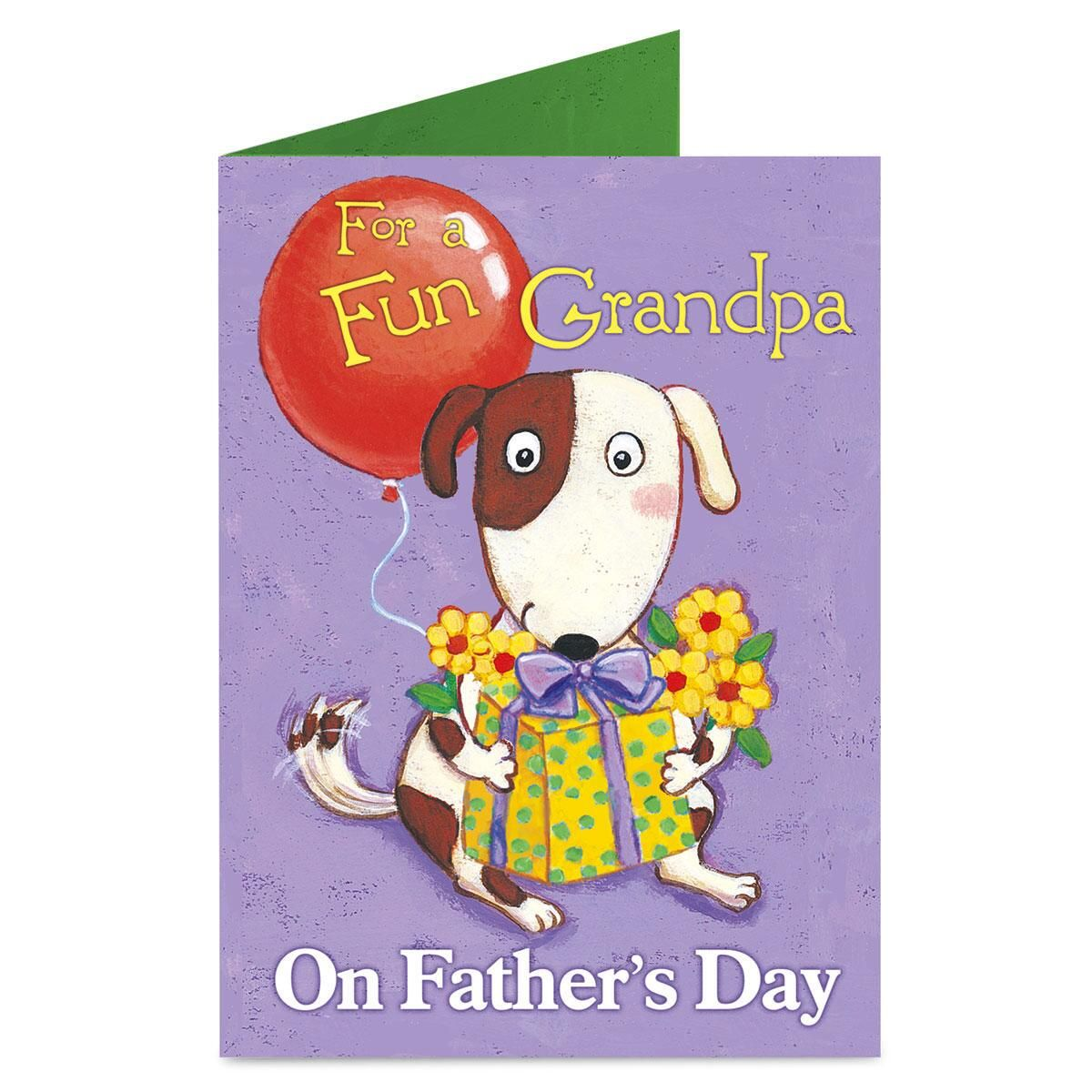 Grandpa Father's Day Card