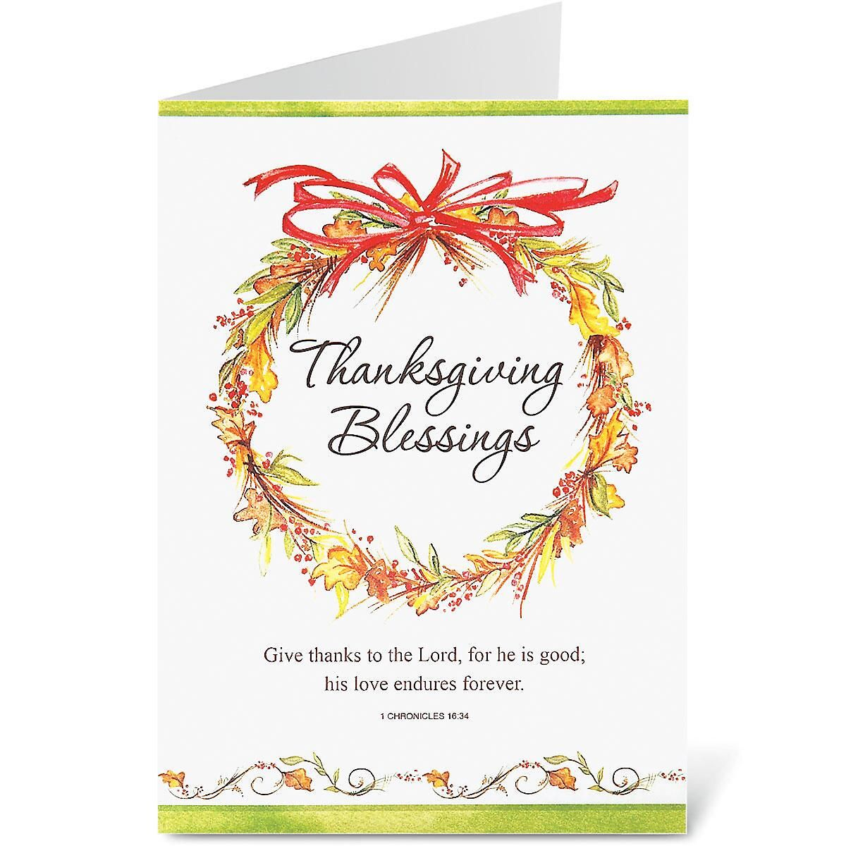 Simple Faith Thanksgiving Cards