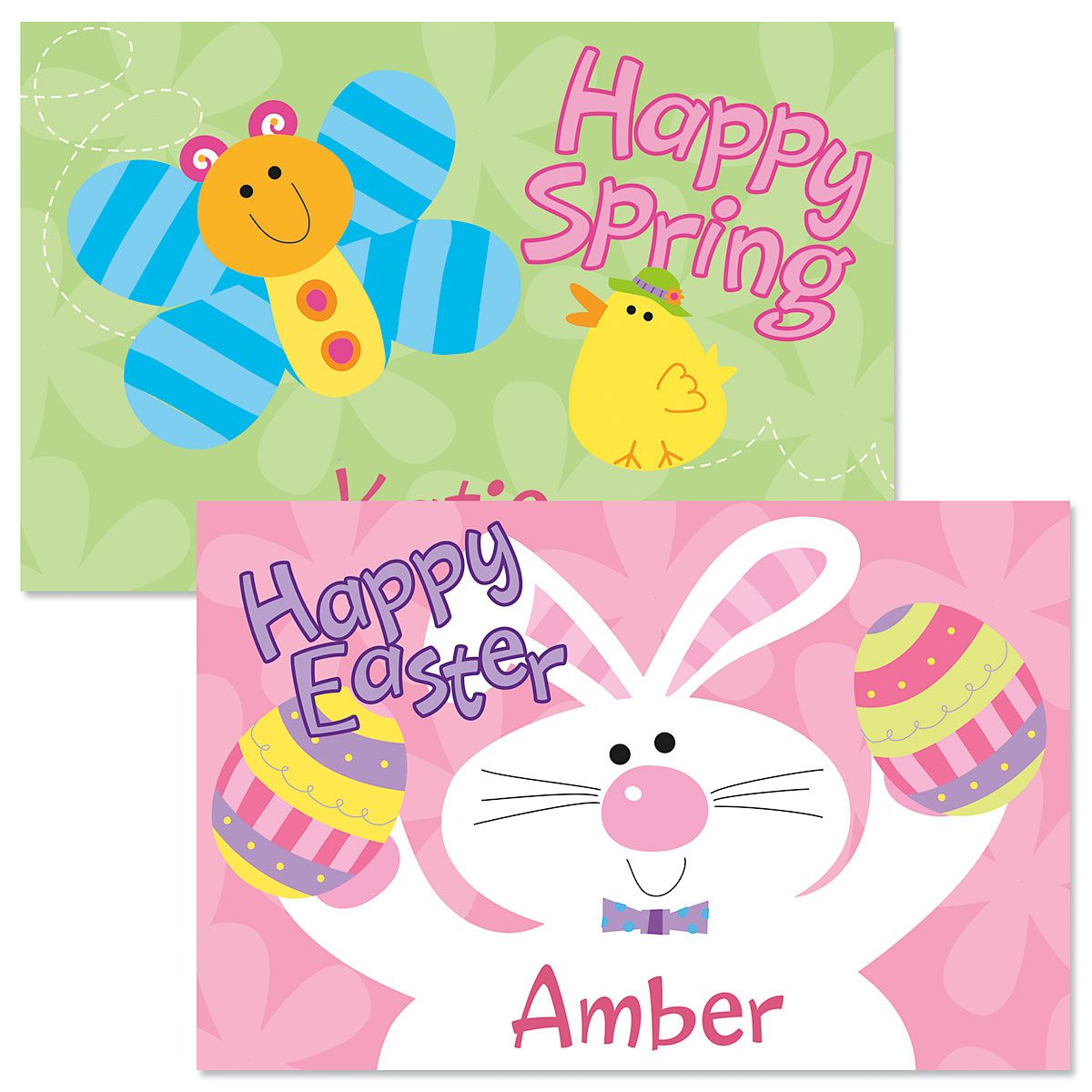 Pink Easter Kids' Placemats