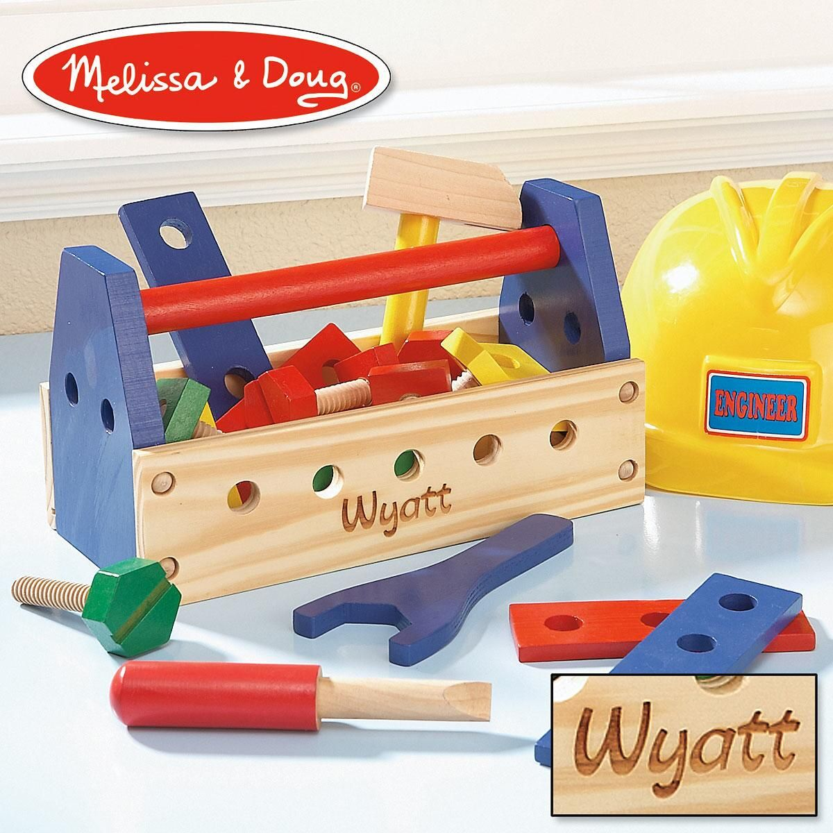 Personalized Toolbox by Melissa & Doug®