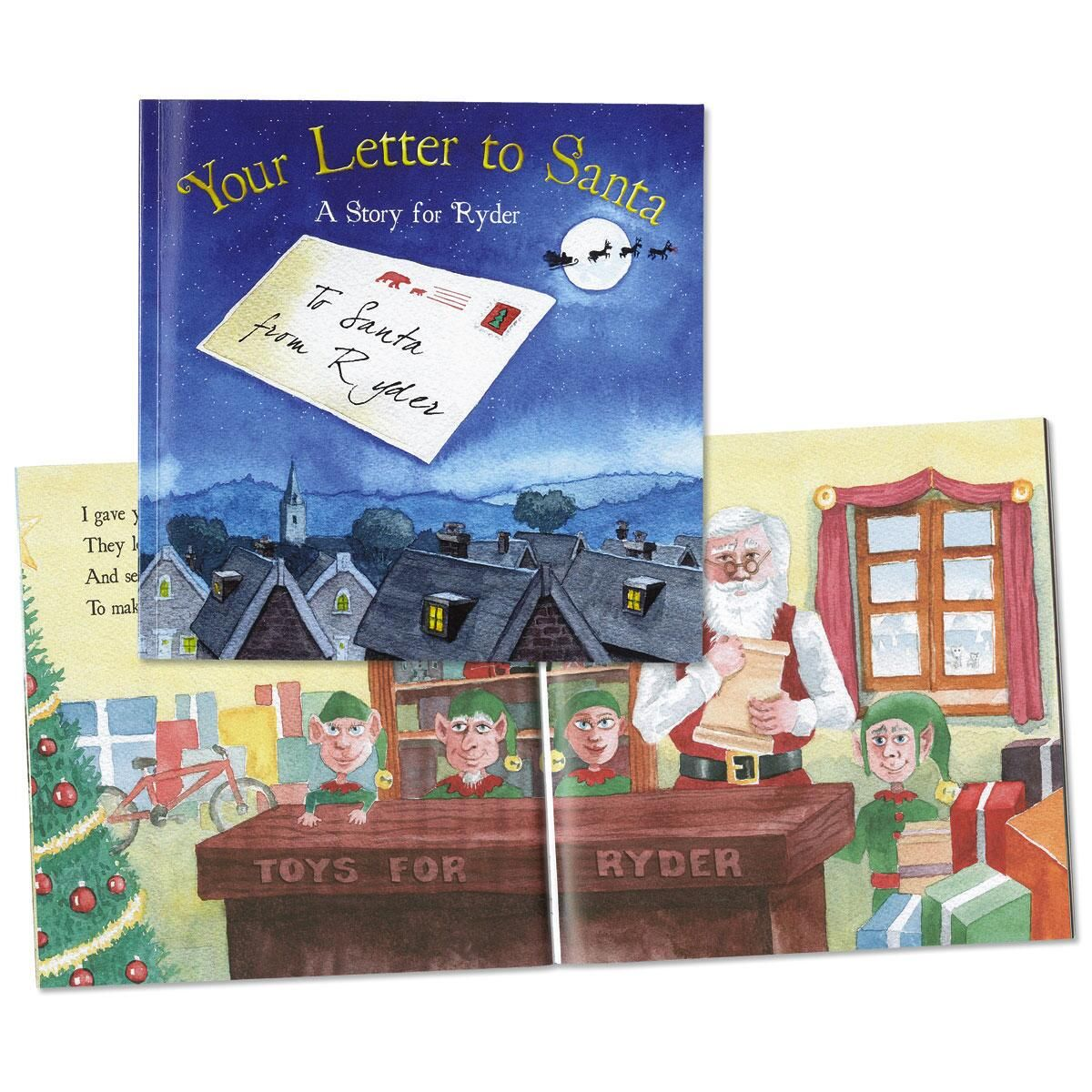 Your Letters To Santa Book  Current Catalog