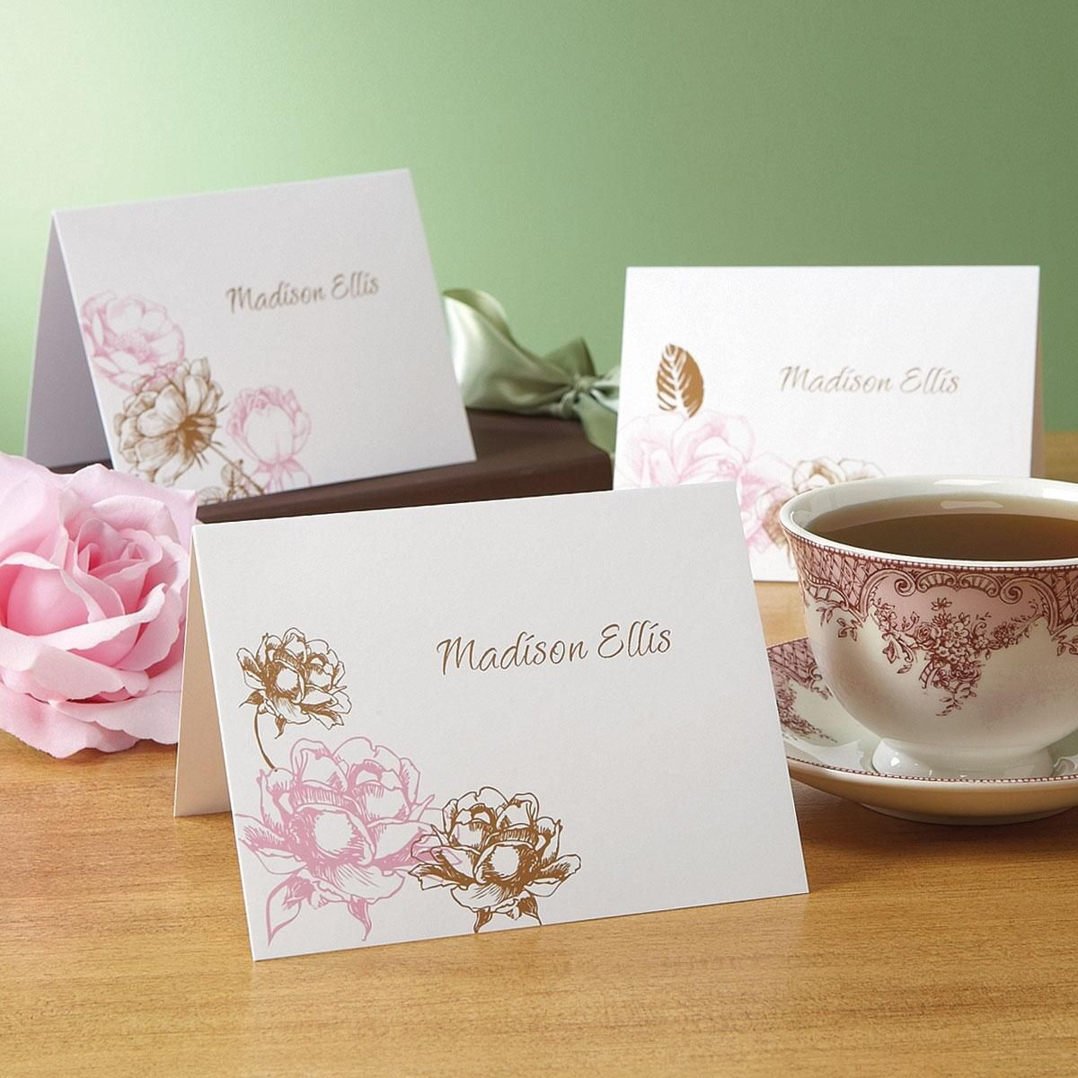 Rose Note Cards  (3 Designs)