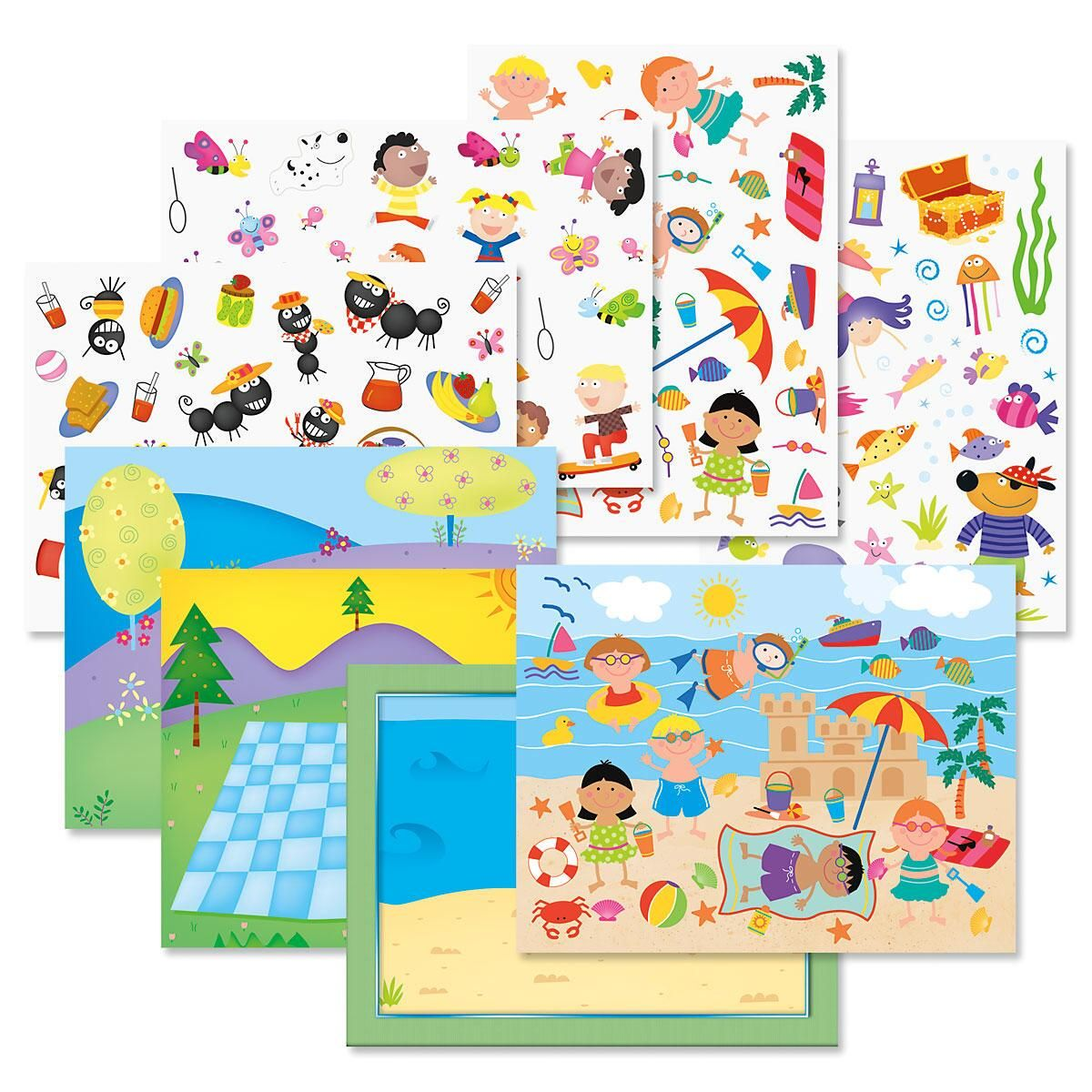 Sticker Scene Value Pack