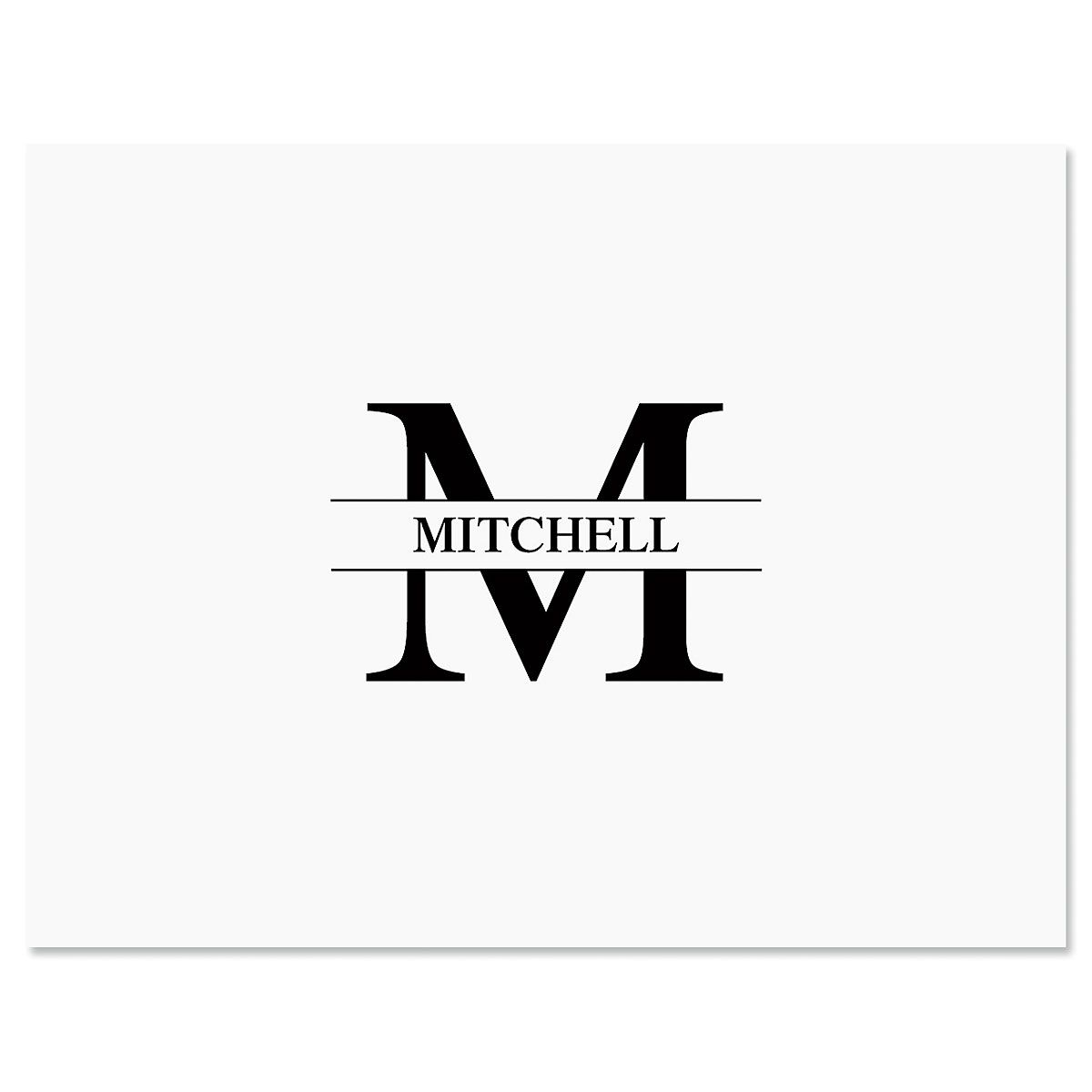Front & Center Personalized Note Cards