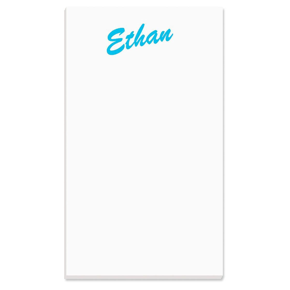 Big Name Personalized Notepads