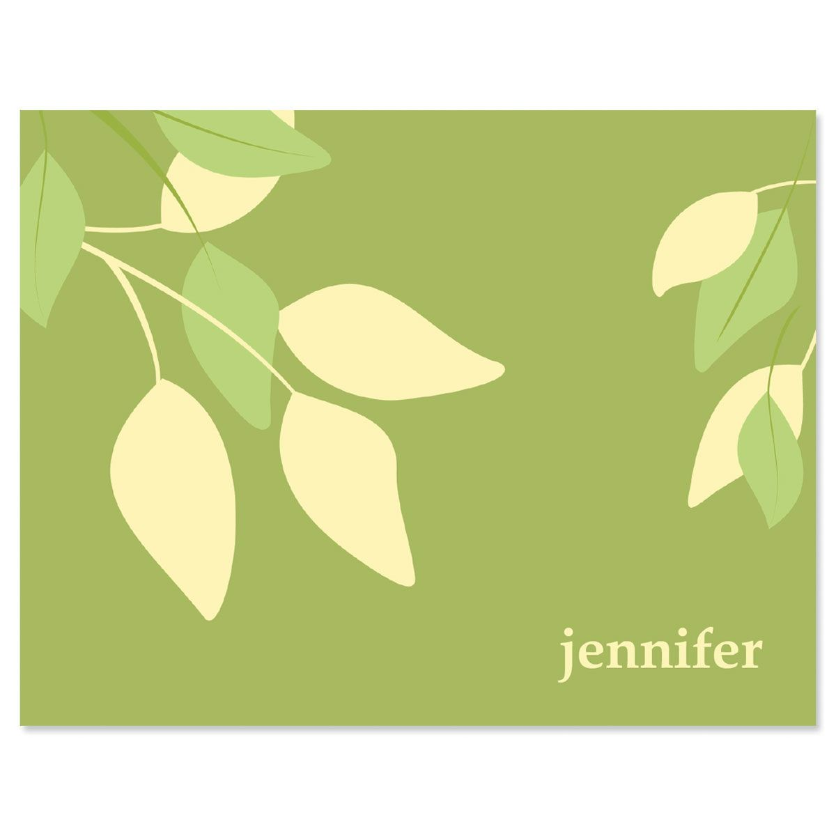 Sage Advice Personalized Note Cards
