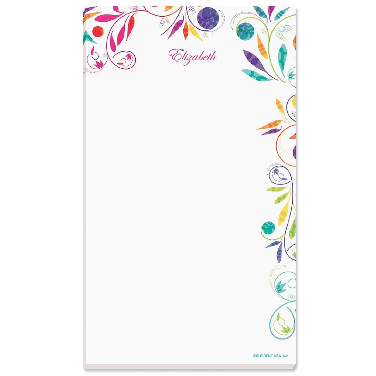 Color Swirl Notepad