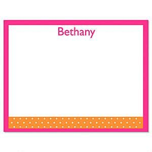 Zesty Dots Correspondence Card