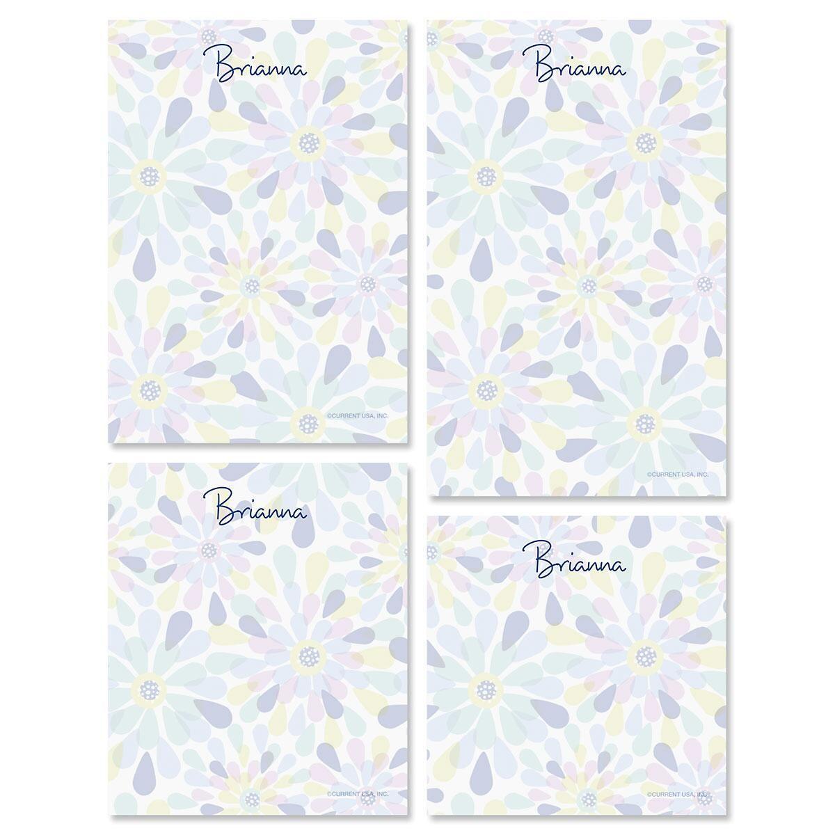 Fresh Blooms Notepad Set