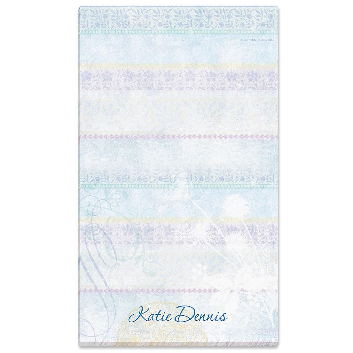 Mixed Blossoms Personalized Notepads