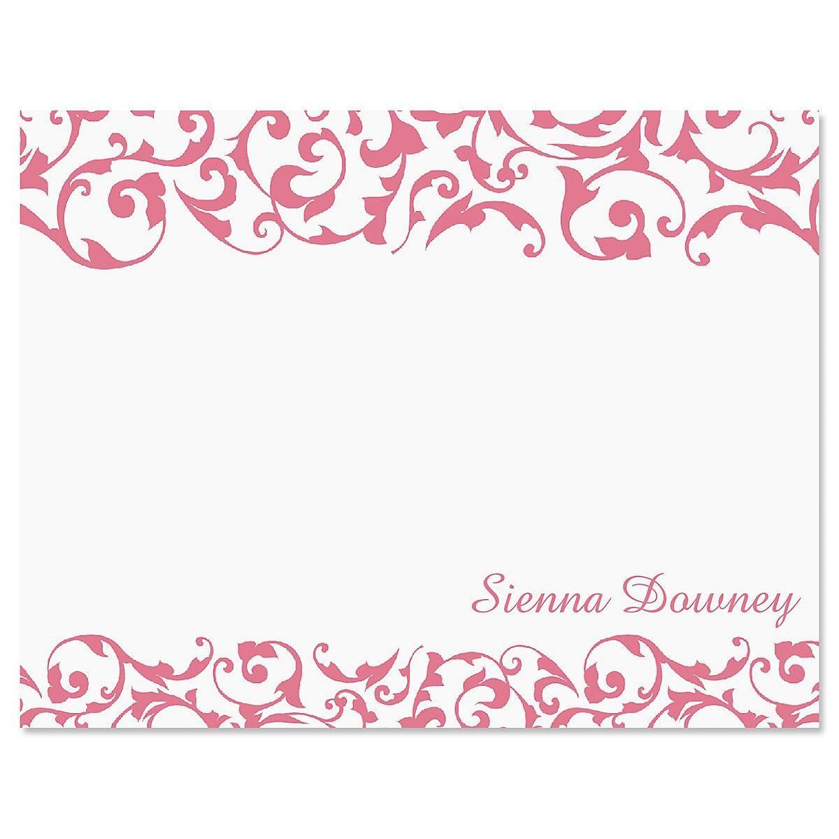 Twist Correspondence Card