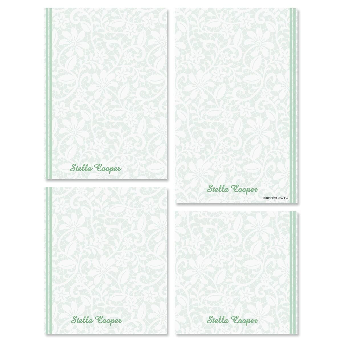Lace Notepad Set