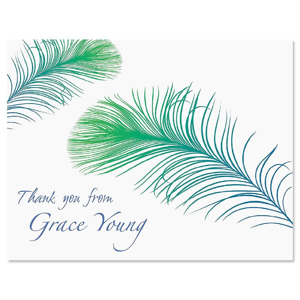 Panache Thank You Card
