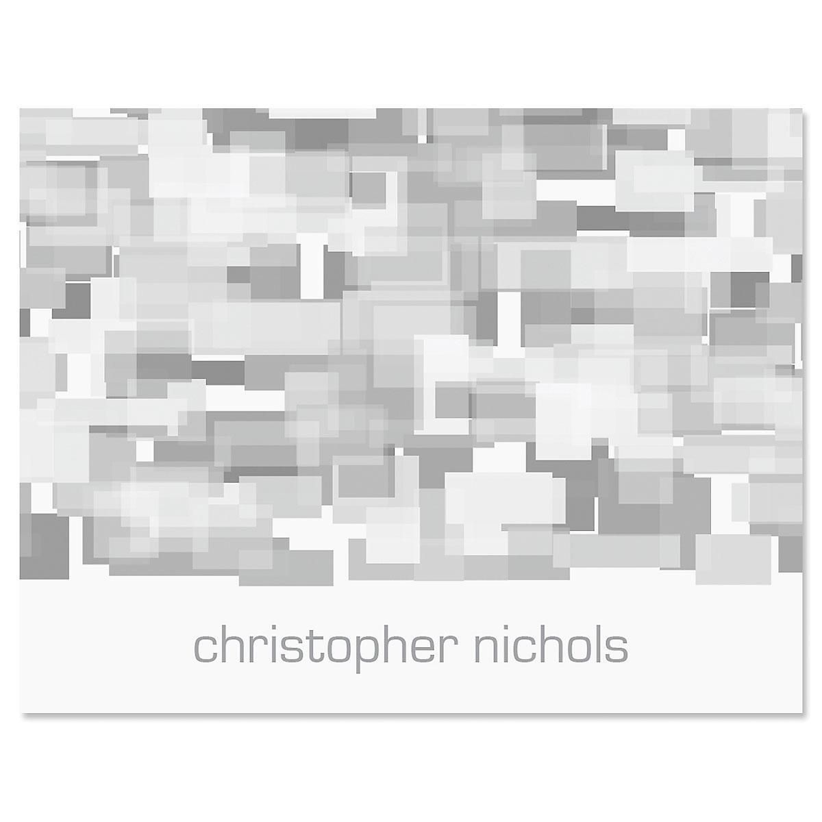 Shades of Grey Note Cards