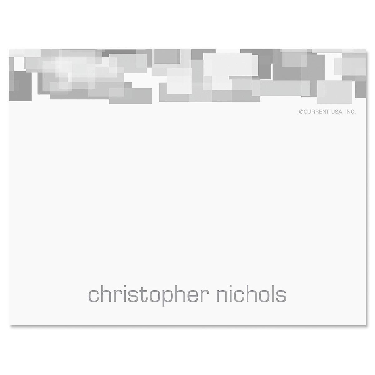 Shades of Grey Correspondence Card