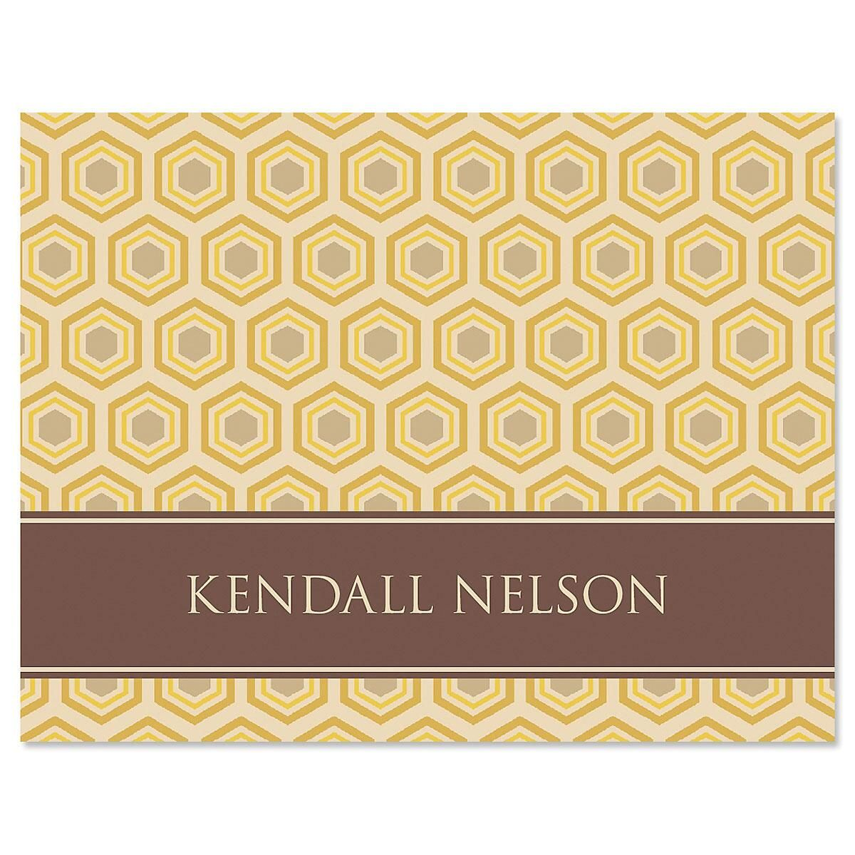 Hexed Personalized Note Cards