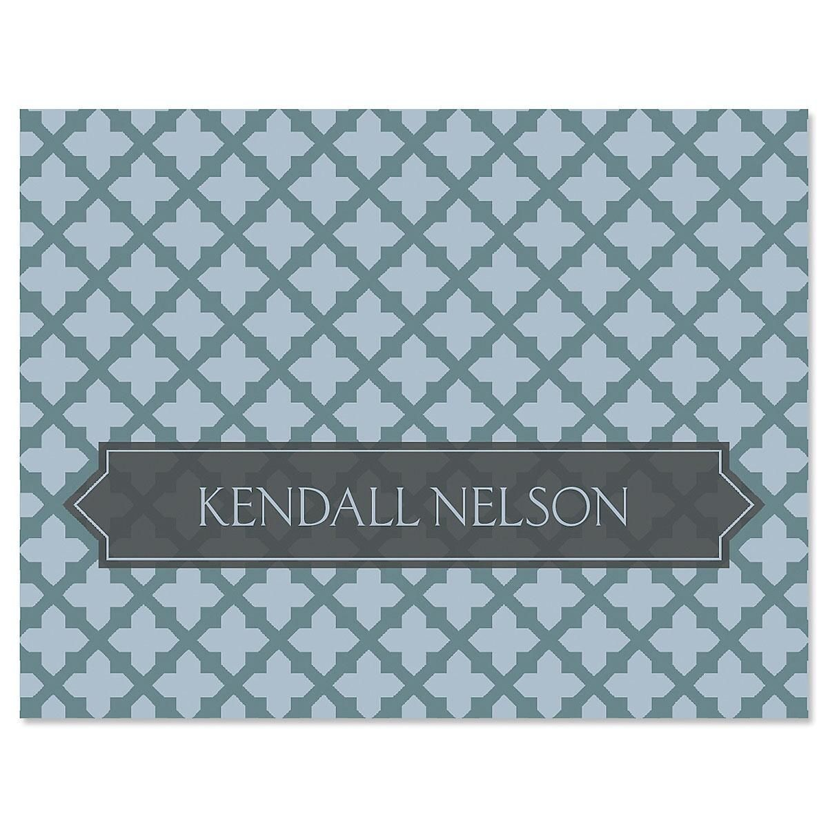 Quatrefoil Note Cards