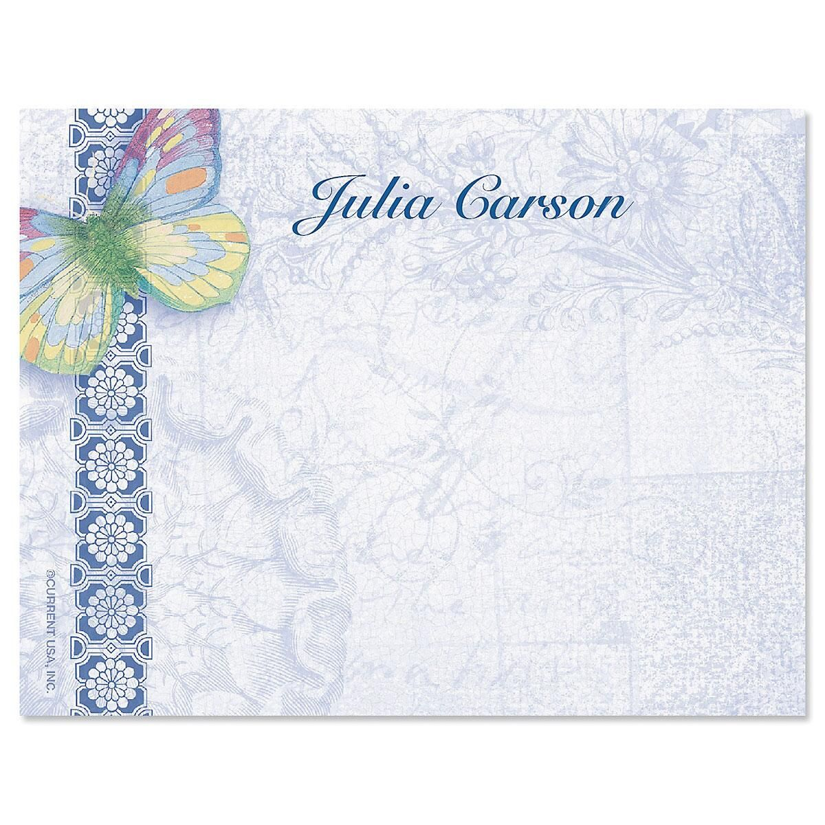 Exotic Prints Correspondence Card