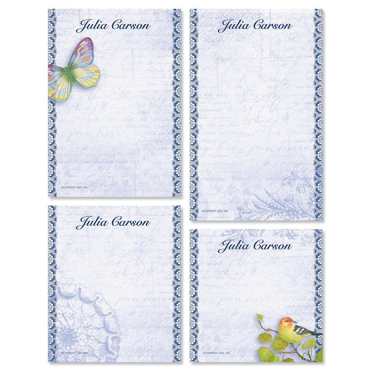 Exotic Prints Notepad Set