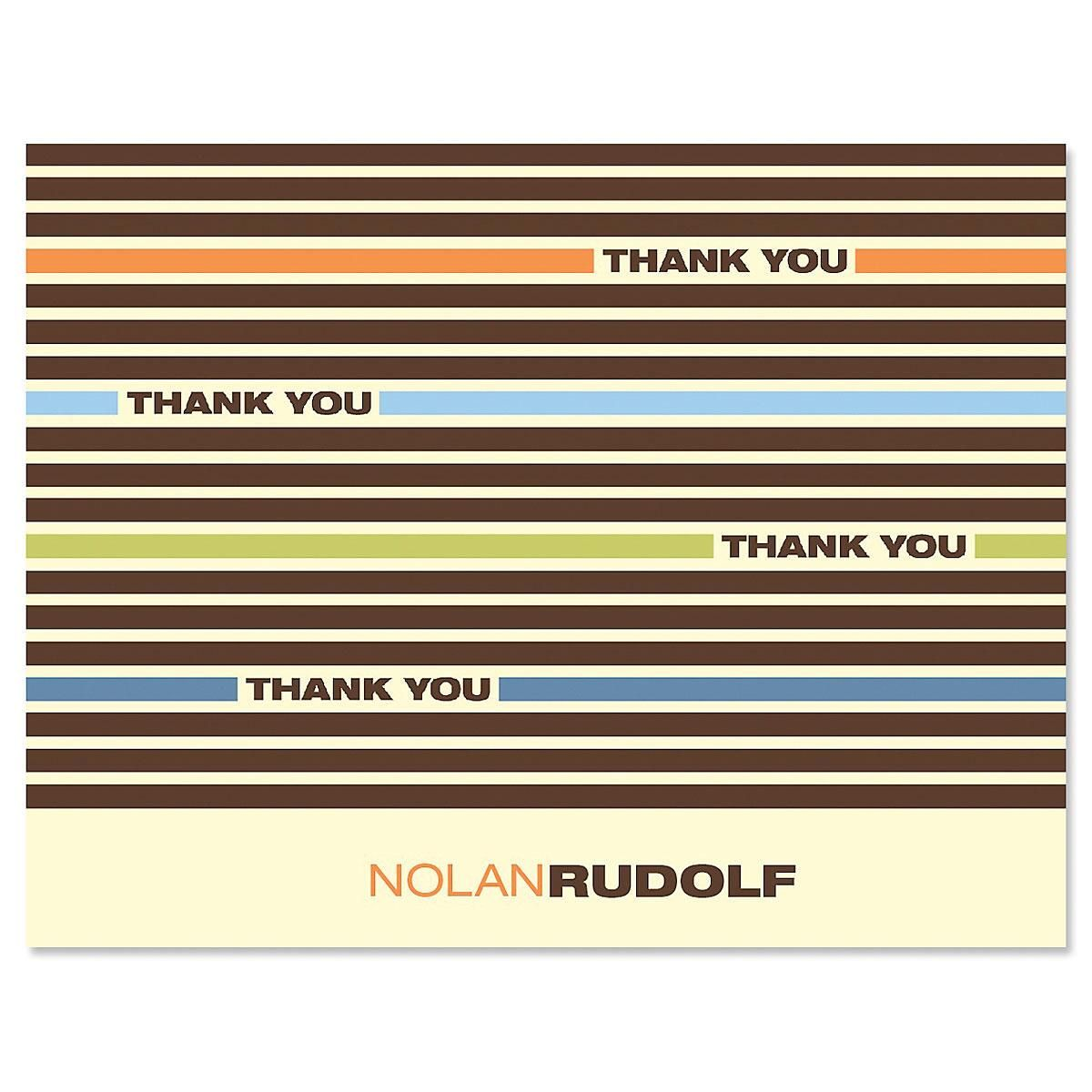 Renegade Personalized Thank You Cards
