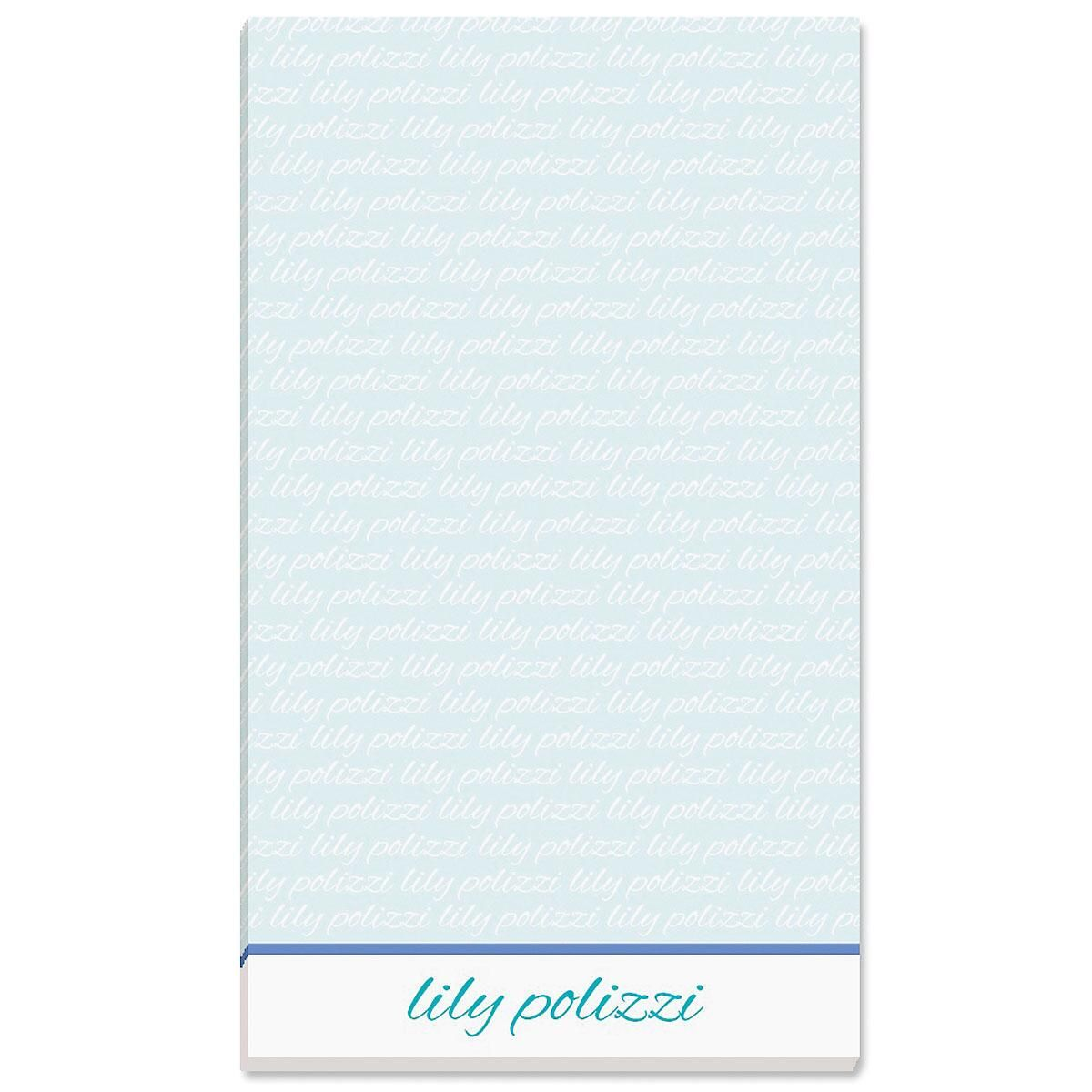 Signature Personalized Notepads