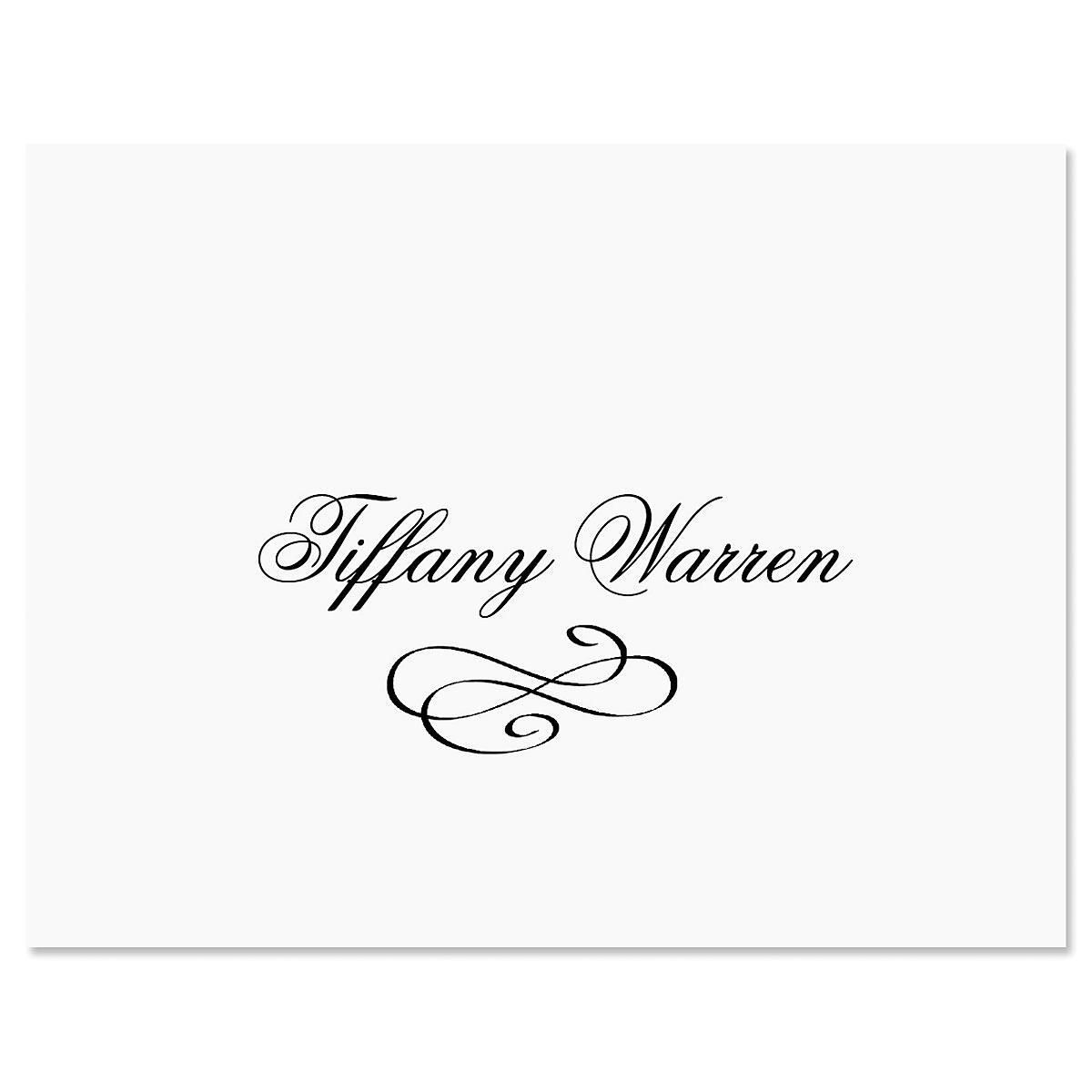 Tiffany Note Card