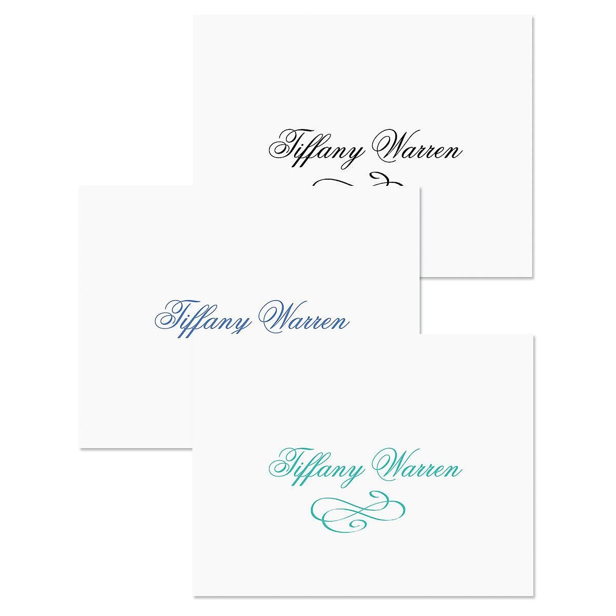 Tiffany Personalized Note Cards