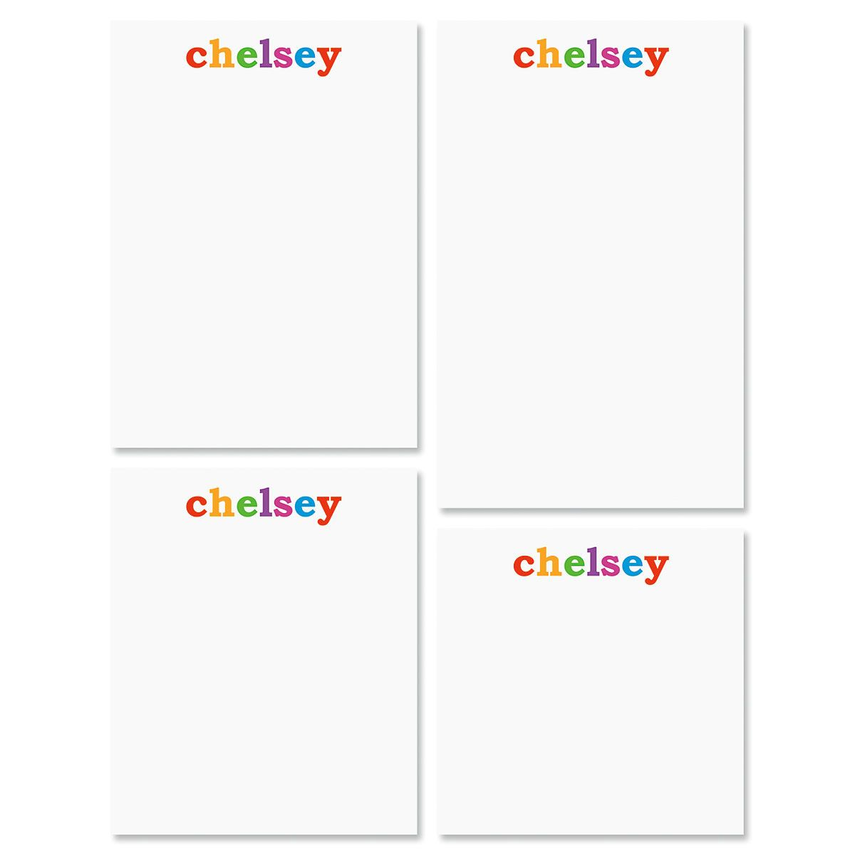 Paintbox Personalized Notepad Set