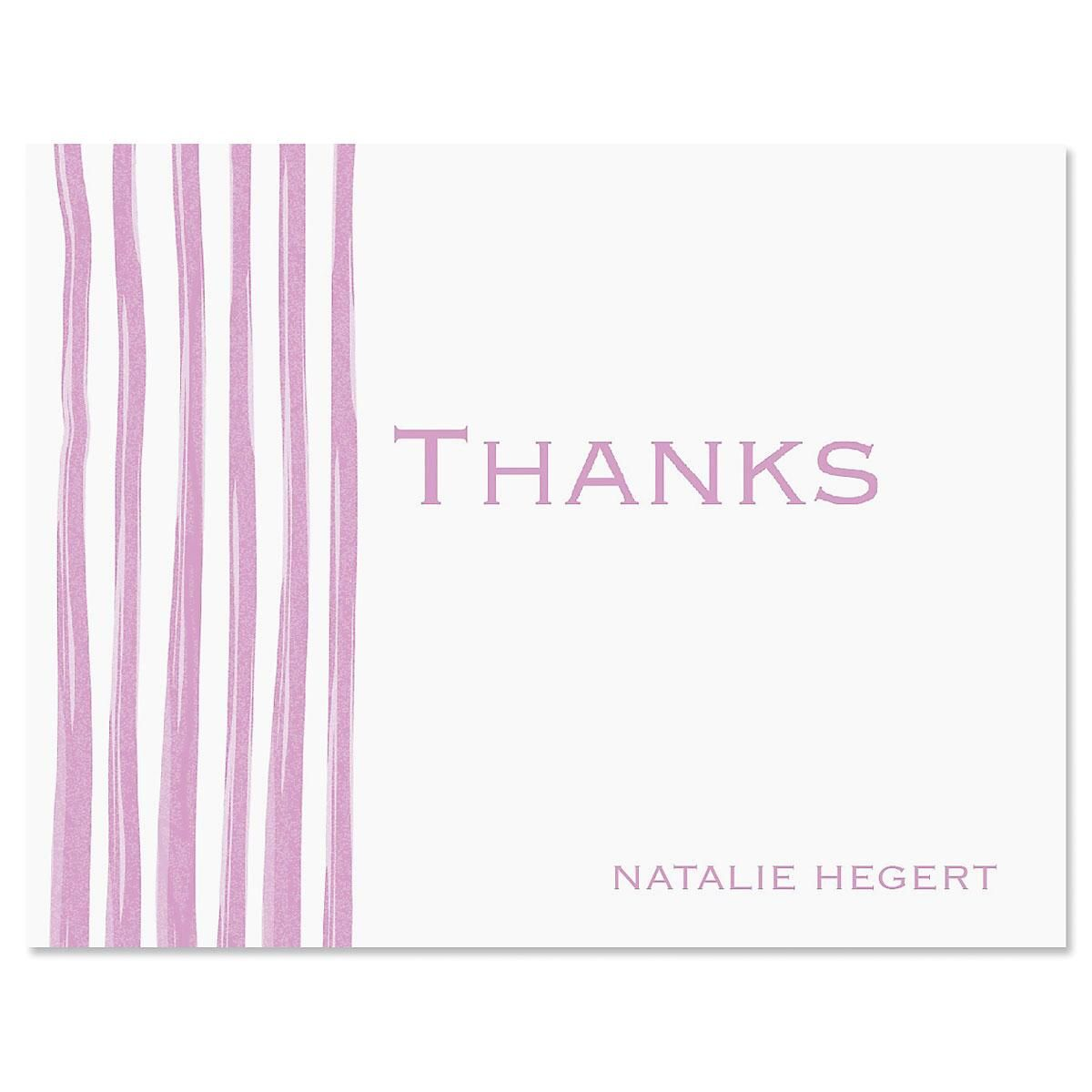 Sheer Delight Thank You Cards