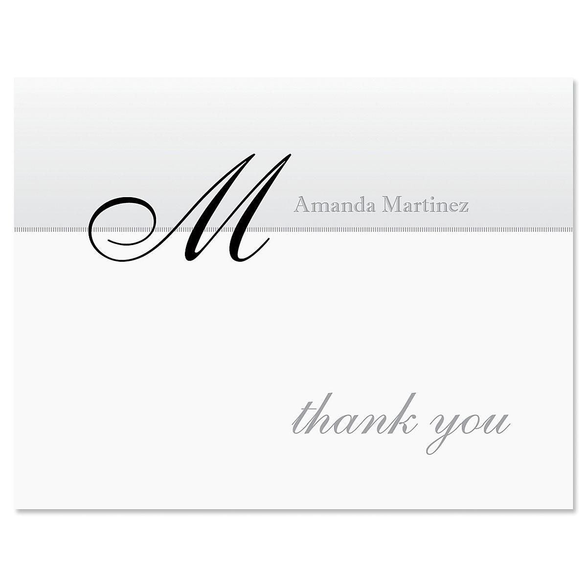 Juliet Personalized Thank You Cards