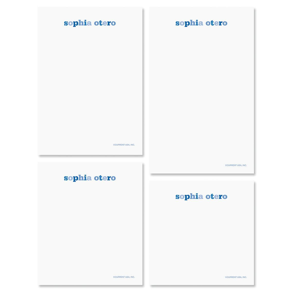 Color Wash Notepad Set
