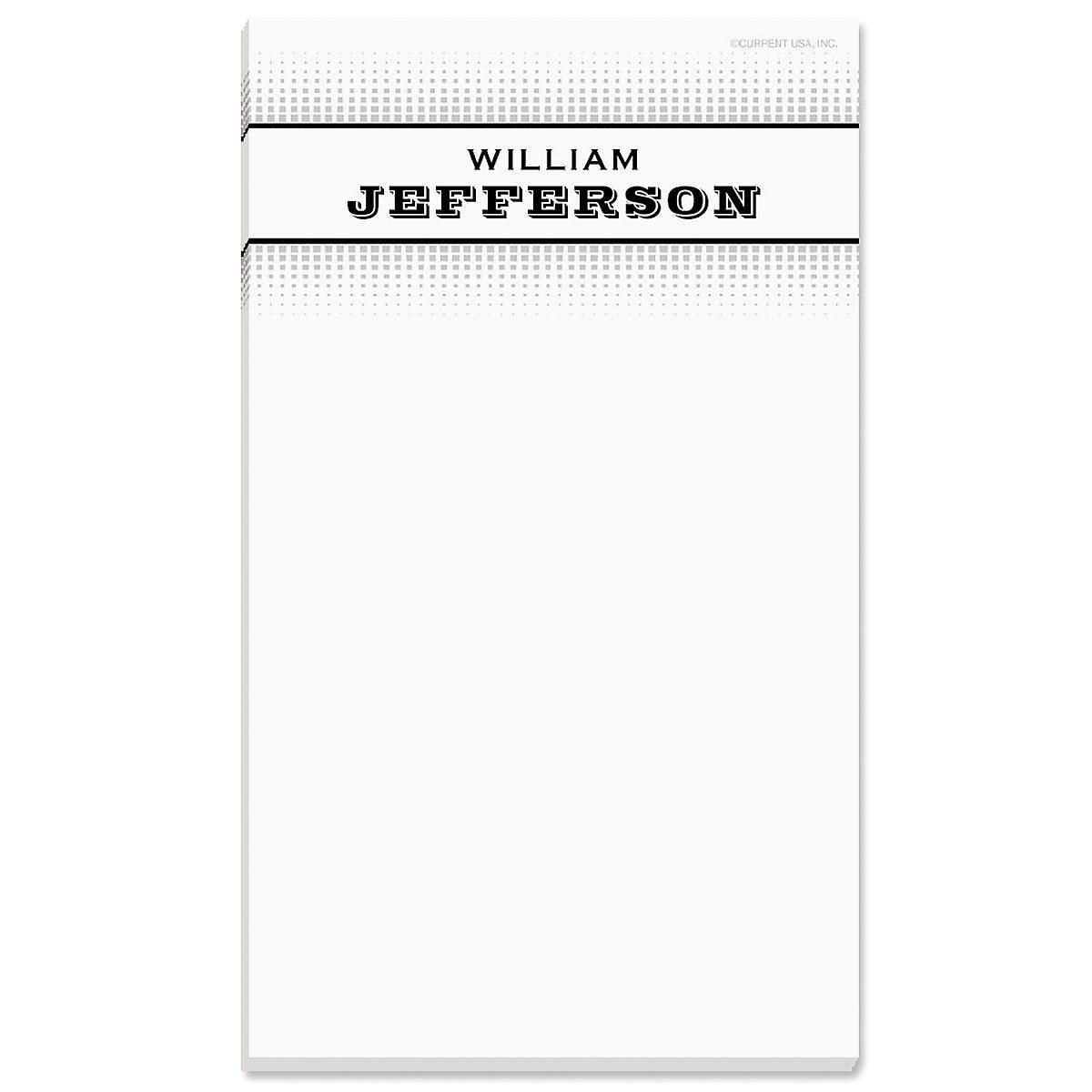 Explorer Personalized Notepads