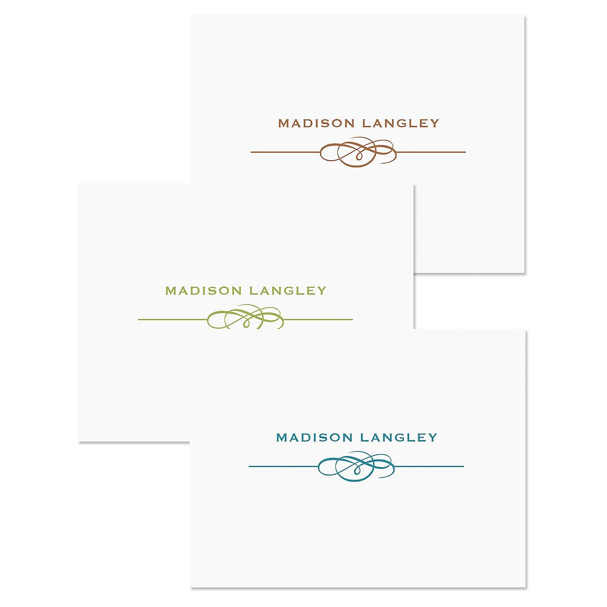 Distinction Personalized Note Card