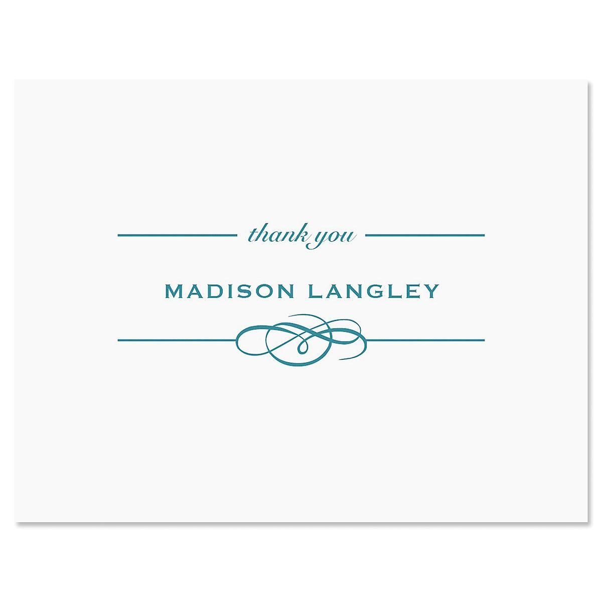 Distinction Personalized Thank You Cards