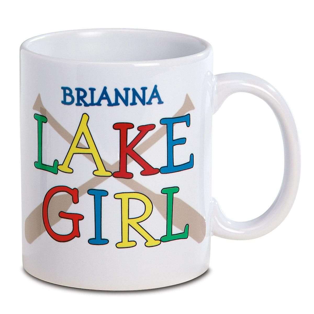 Lake Girl Mug