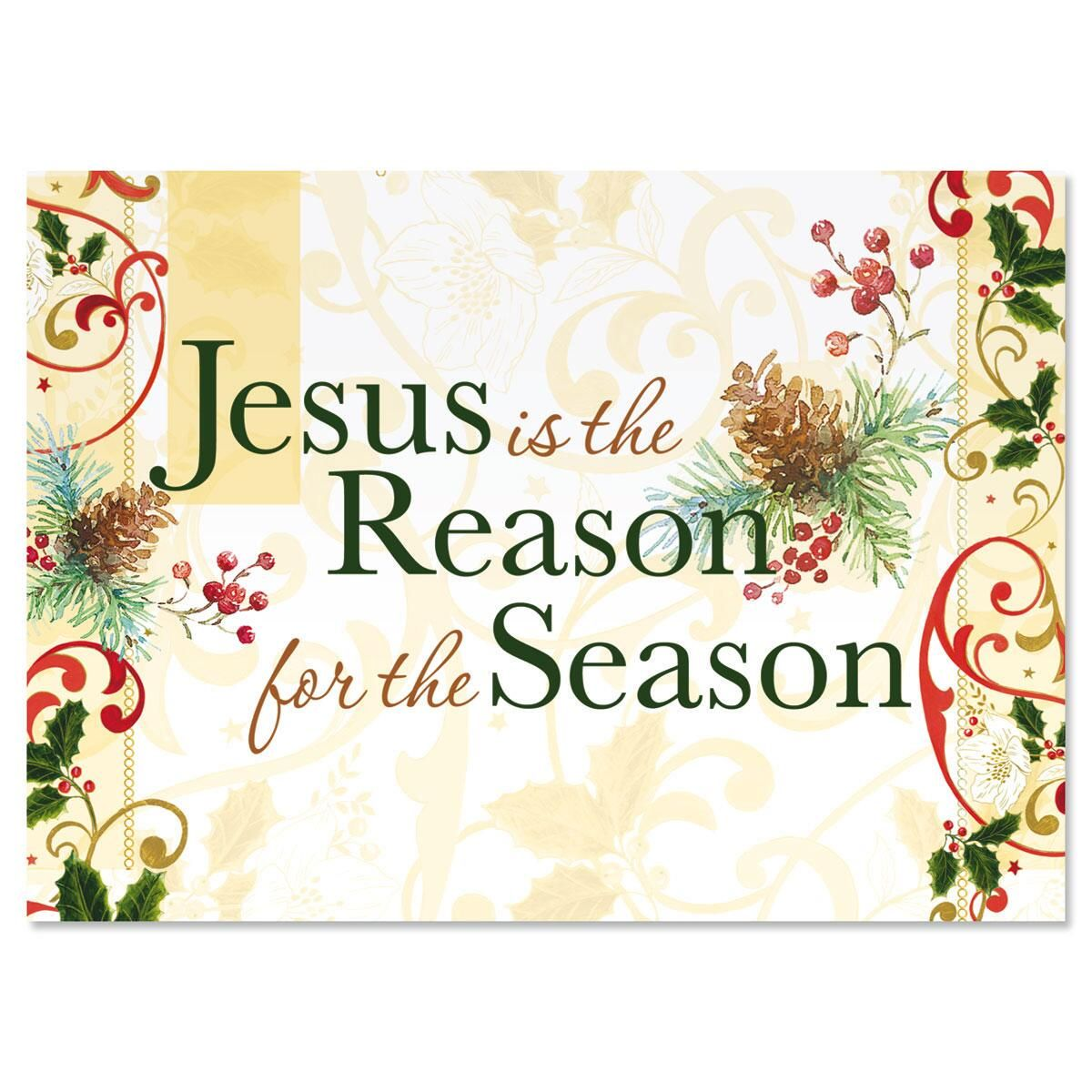 Jesus is the Reason Christmas Cards