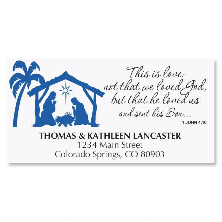 Bethlehem Address Labels